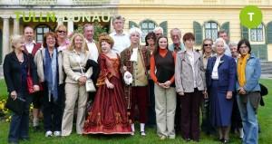 Gruppenfoto in Tulln